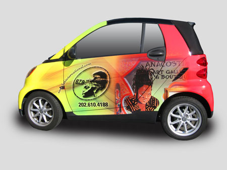 Smart Car Vehicle Wrap