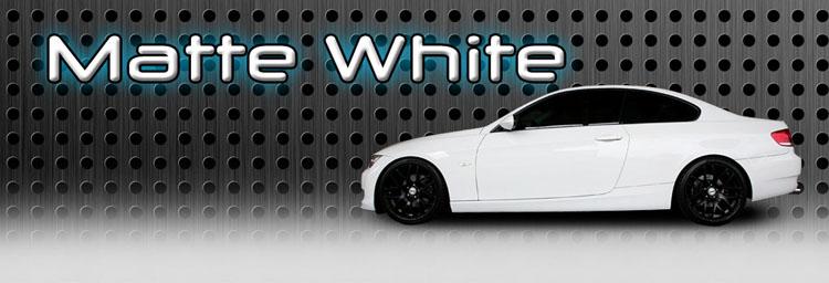White Black Matte Wraps MA NH NY VT ME AL CA FL